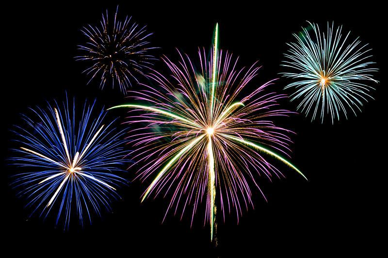 Fireworks in Greenville, SC