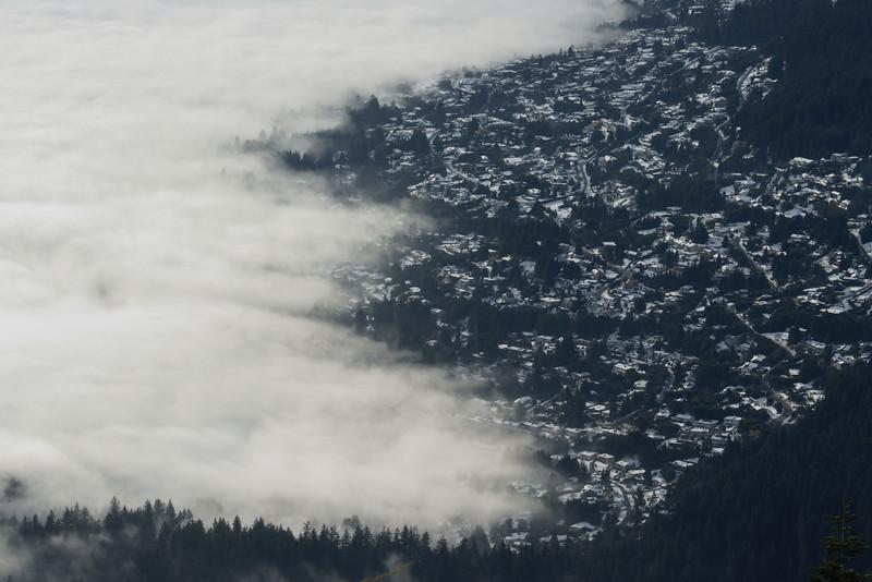 West Vancouver fog
