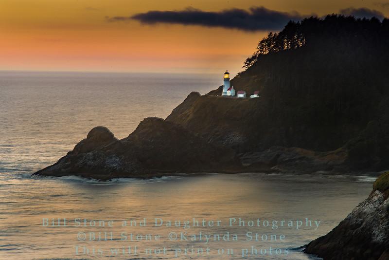 Heceta Lighthouse - Oregon