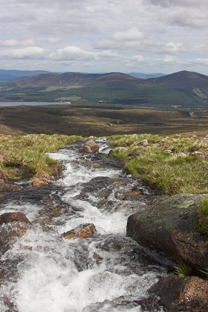 A view from the Cairngorms, Scotland while looking for Ptarmigan