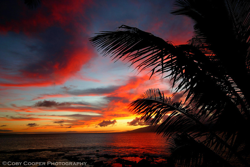 April 22, A shot I did not think much about when taken but after learning more and more about processing one that I now enjoy...I hope you do as well. This is a sunset off Maui.