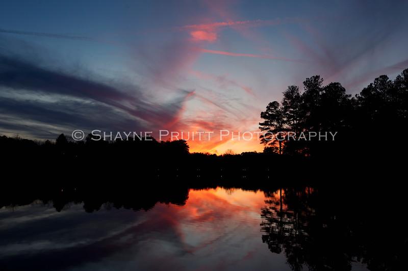 Duncans Lake, Buford Georgia - Feb 2012
