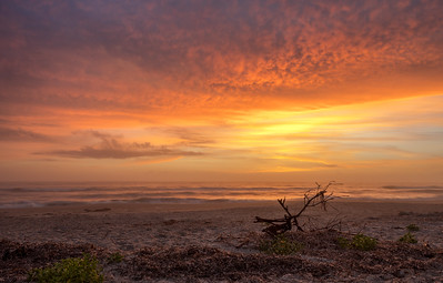 Sunrise at Melbourne Beach, FL