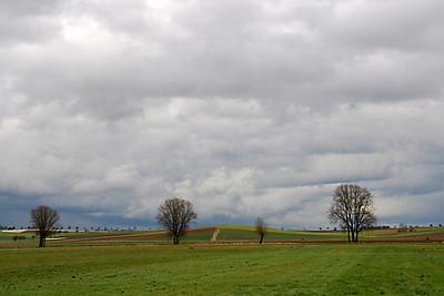 Along the authobahn - Germany