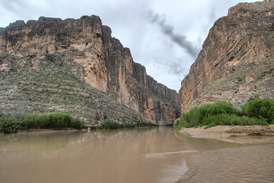 Santa Helena Canyon - Big Bend National Park