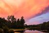 Storm Cloud at Sunset 4<br /> Kanuga Lake