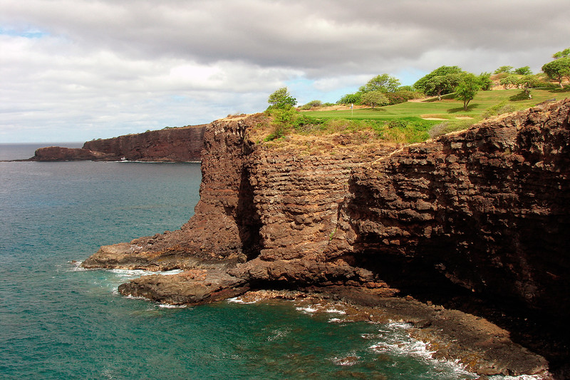 Challenge at Manele Golf Course - 12th Hole - Lana'i, Hawaii