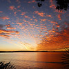 Laguna Bay sunset, Noosa Heads, Queensland.