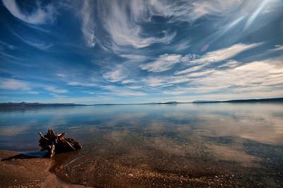 Lake Yellowstone Yellowstone National Park Wyoming © 2010