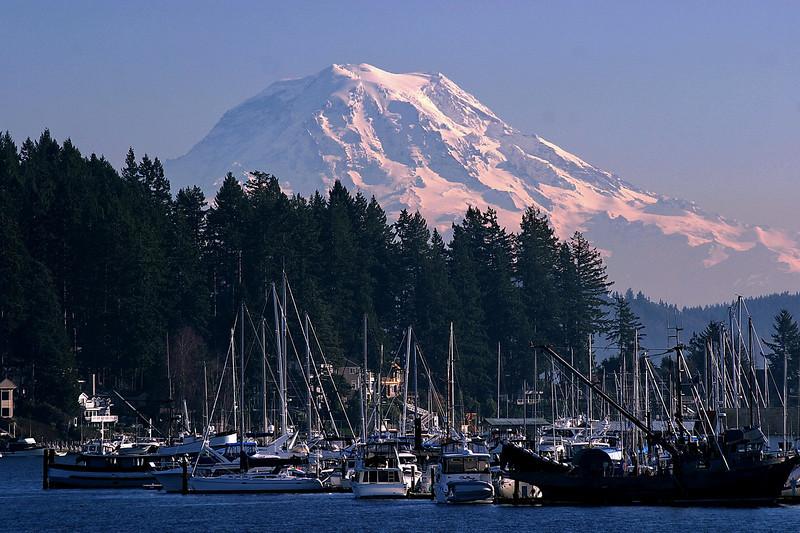 Gig Harbor and Mount Rainier