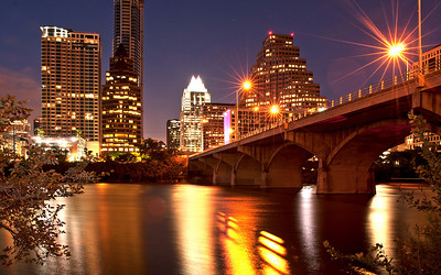 Austin Skyline.   Image by Chase A. Fountain ©2011