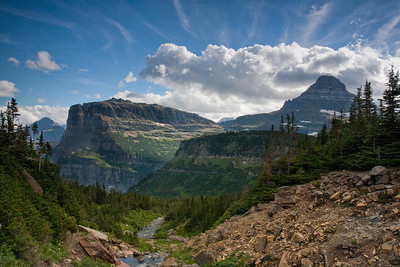 Lunchbox creek Glacier National Park,