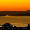 Sunset looking toward Tiburon from Grizzly Peak Road, Berkeley