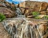 Ephemeral Waterfall. Rancho Bernardo, Ca.