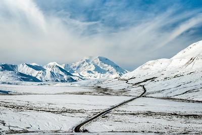 Winter Wonderland in Fall Denali National Park Alaska © 2014