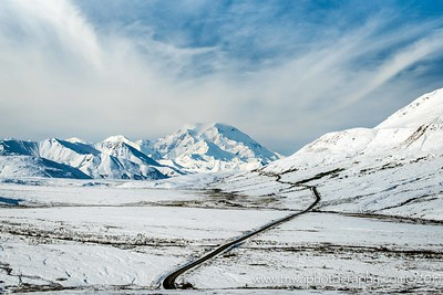 Winter Wonderland in Fall Denali National Park Alaska © 2014