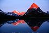 Sunrise, Swiftcurrent Lake, Glacier National Park, Montana<br /> June 2008