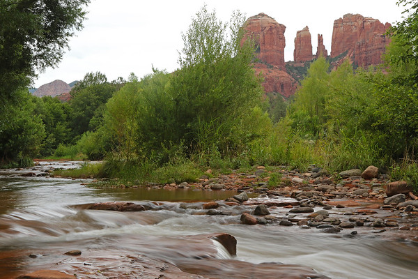Red Rock Crossing, Cathedral Rock, Sedona, Arizona