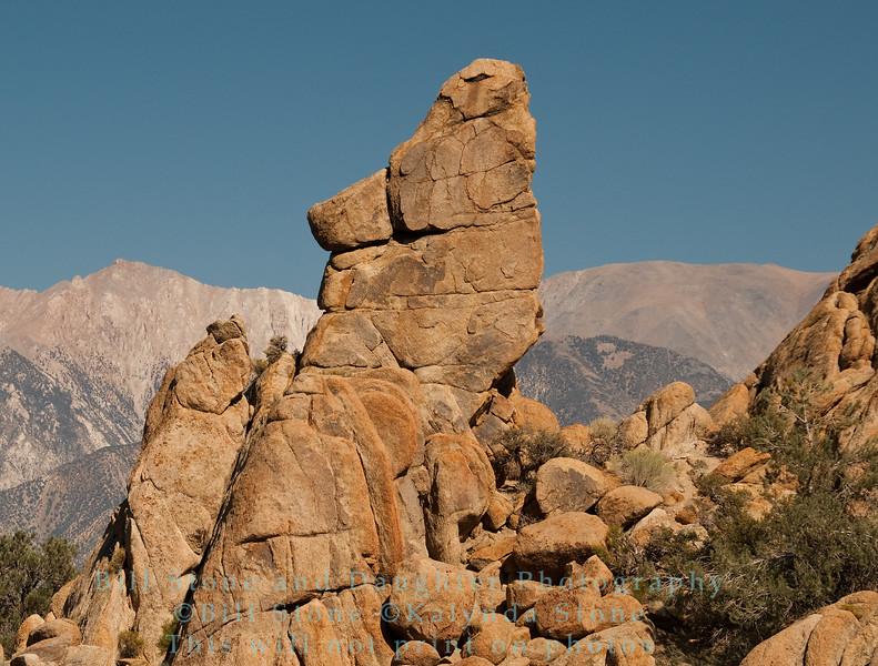Rock Formations near Benton California