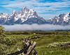 Grand Teton, foggy bottem