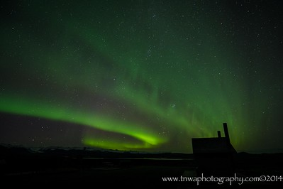 Aurora Borealis Denali Highway Alaska © 2014