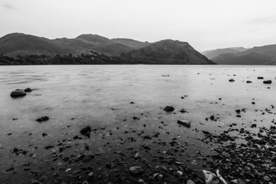 Ullswater after Sunset - Lake District, England, UK