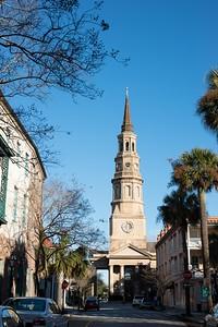 St. Philip's Church in Charleston, South Carolina