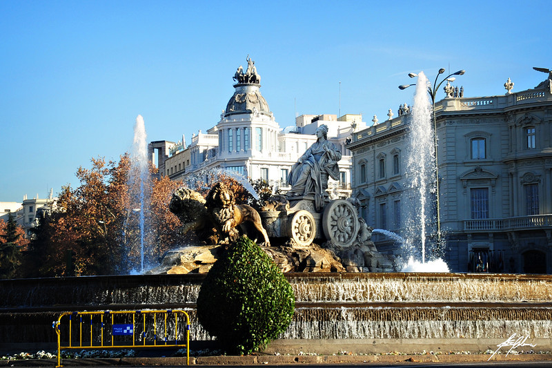 La Cibeles<br /> Madrid, Spain<br /> 2011
