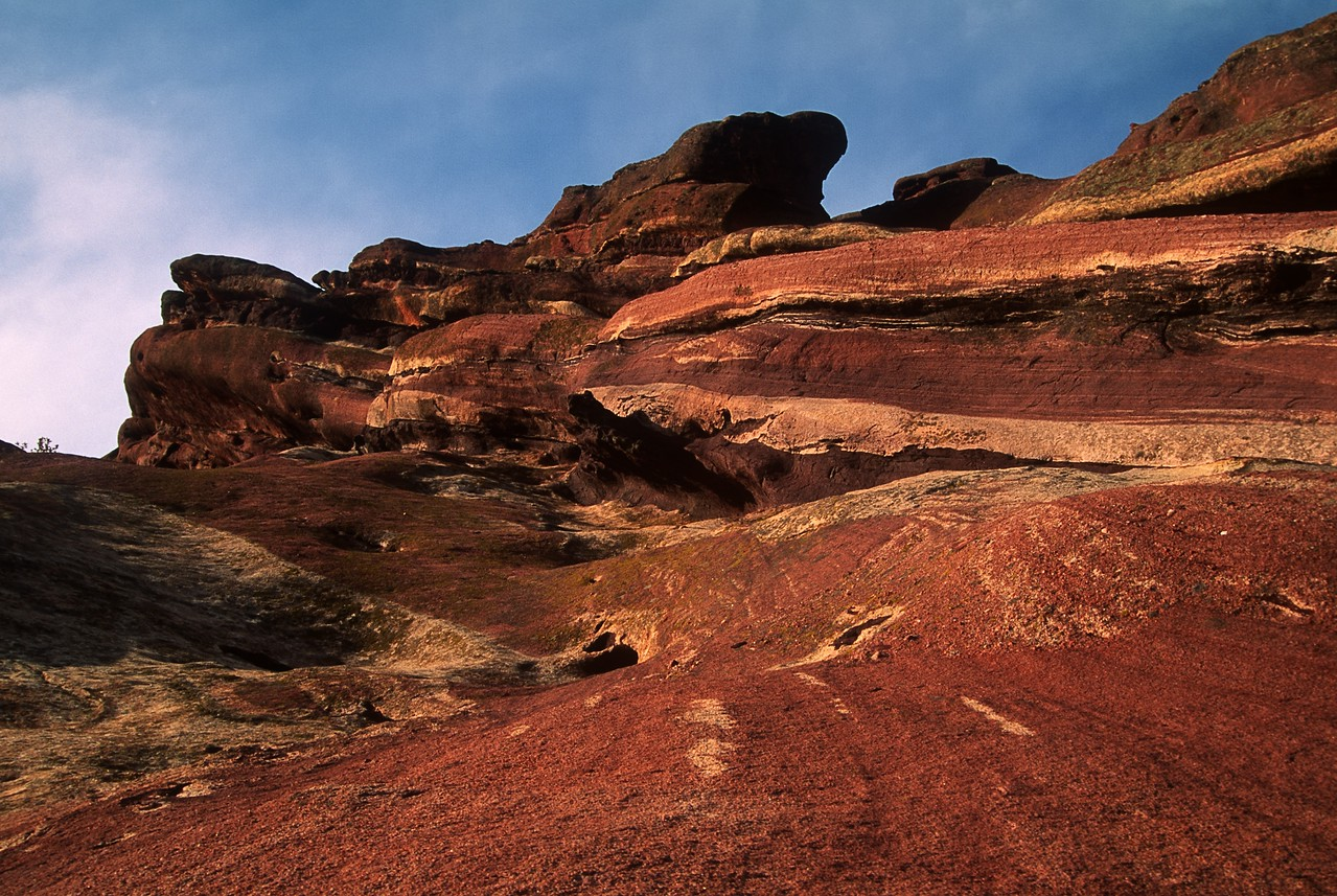 Red Rock in Rockie Mountains