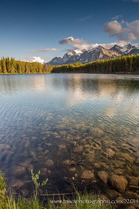 Tranquility at Herbert Lake Banff National Park Alberta, Canada © 2014
