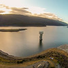 Thomson River Dam at sunset