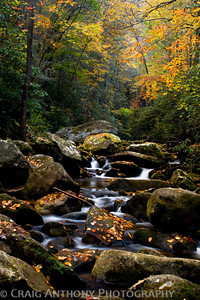 Fall at South Mountains State Park in NC