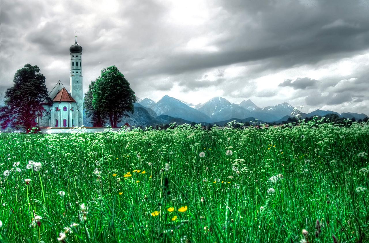 Bavarian church.