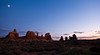 Another beautiful sunset in Arches National Park.