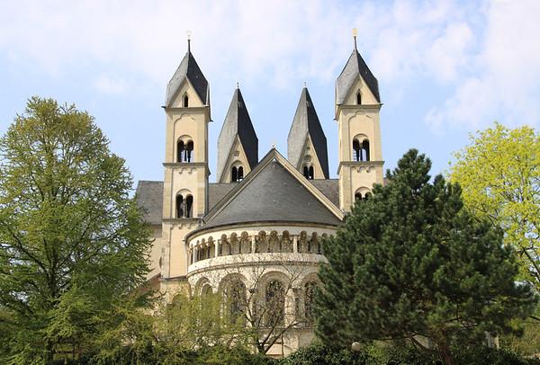 St Castor Cathedral, Koblenz