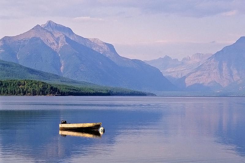 Lake MacDonald Boat (Glacier Natl Park)