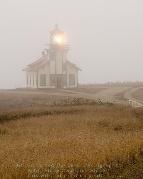 point cabrillo lighthouse, mendocino county california