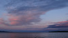 Cordova Bay evening sky