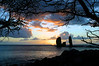 """3 Stone Sunset"" - Island of Lana'i, Hawaii"