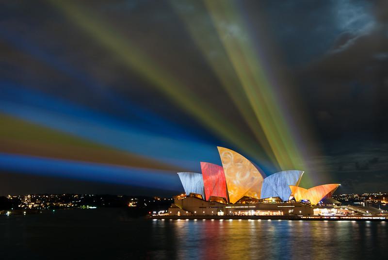 Sydney Opera House, Vivid Sydney festival.