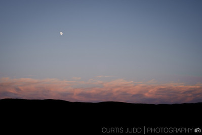 Summer Moonrise Uintas