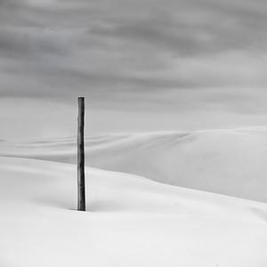 Anna Bay - Nelson Bay, NSW, Australia black and white