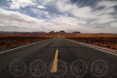 Forrest Gump Hill - Monument Valley, Arizona