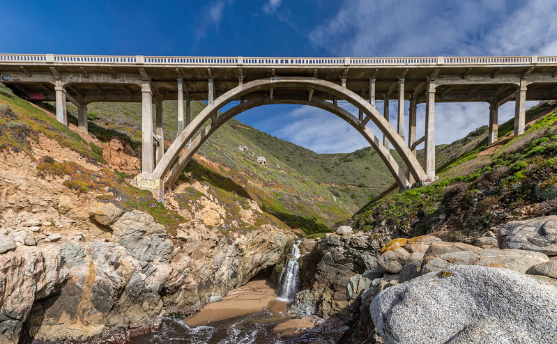 Bridge in Big Sur