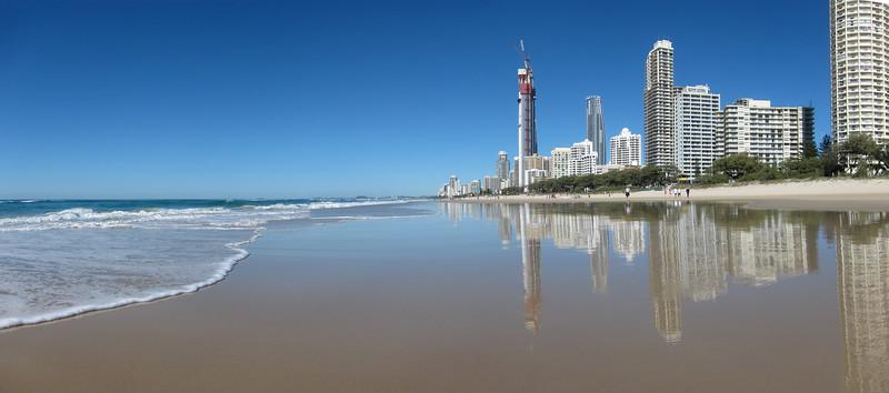 Surfers Paradise panorama, Gold Coast.