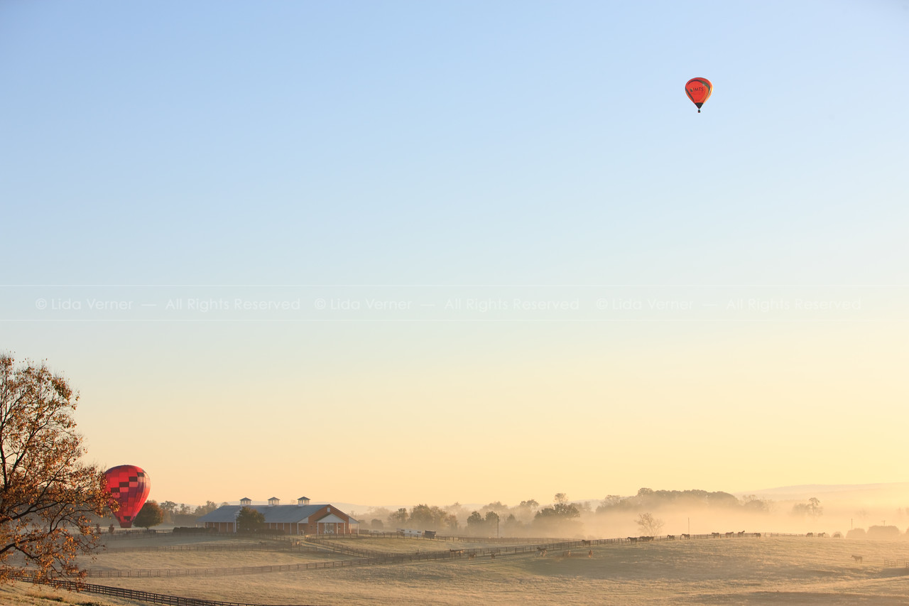 A cold morning to fly