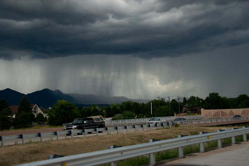2007 Colorado Trip - Rain On I-25