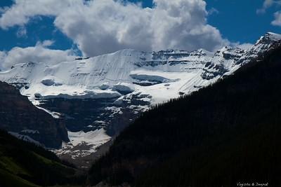 The Victoria Glacier
