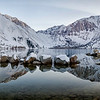 Convict Lake at sunrise