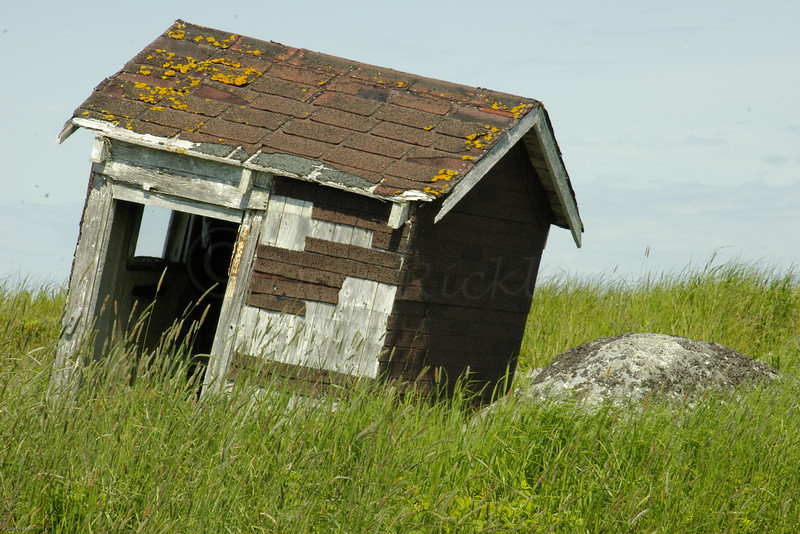 Old Leaning Shack, Peggy's Cove, Nova Scotia, Can